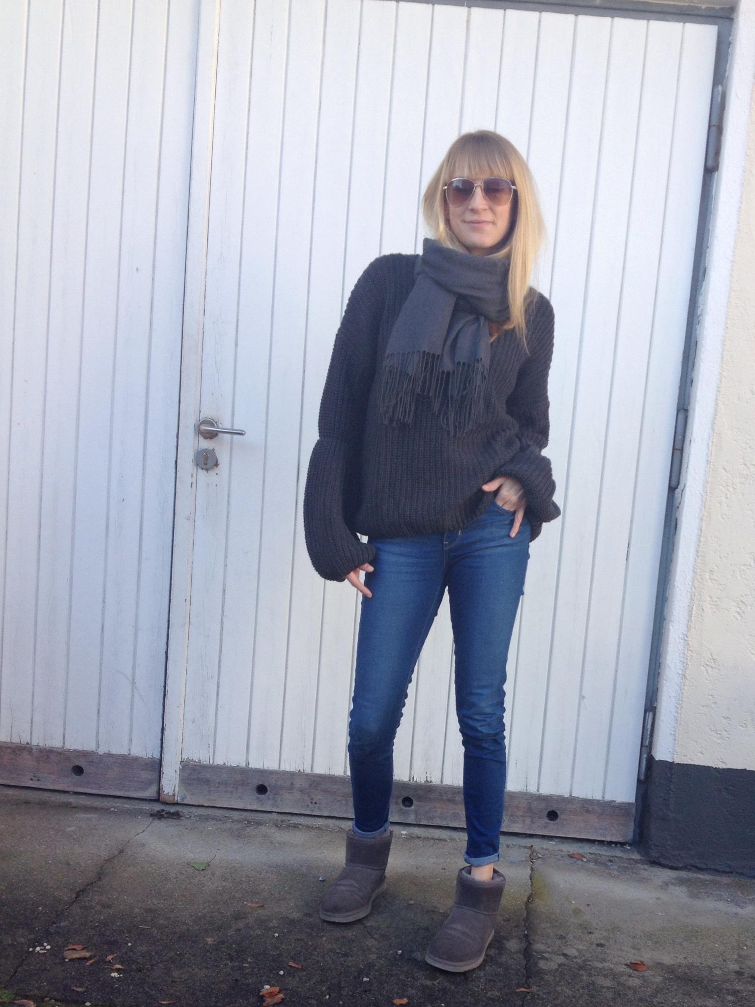 Ärmel in Überlänge, Pullover, Pullover Vila, Zalando Sale, Mamablog, Modeblog, Modemama, Mamastyle, Winterpullover, Strickpullover, Trend im Test