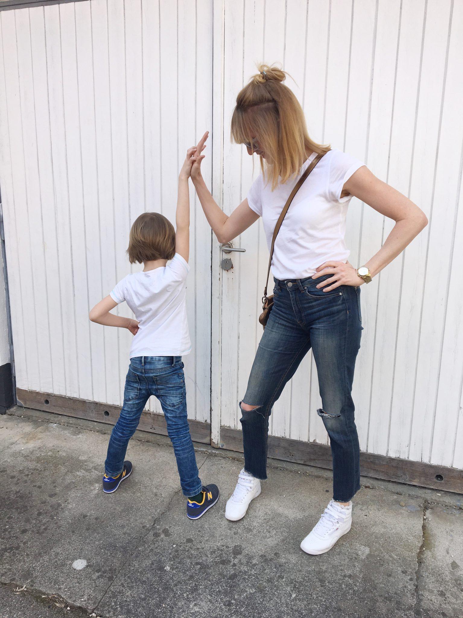 das perfekte Basic: weißes T-Shirt