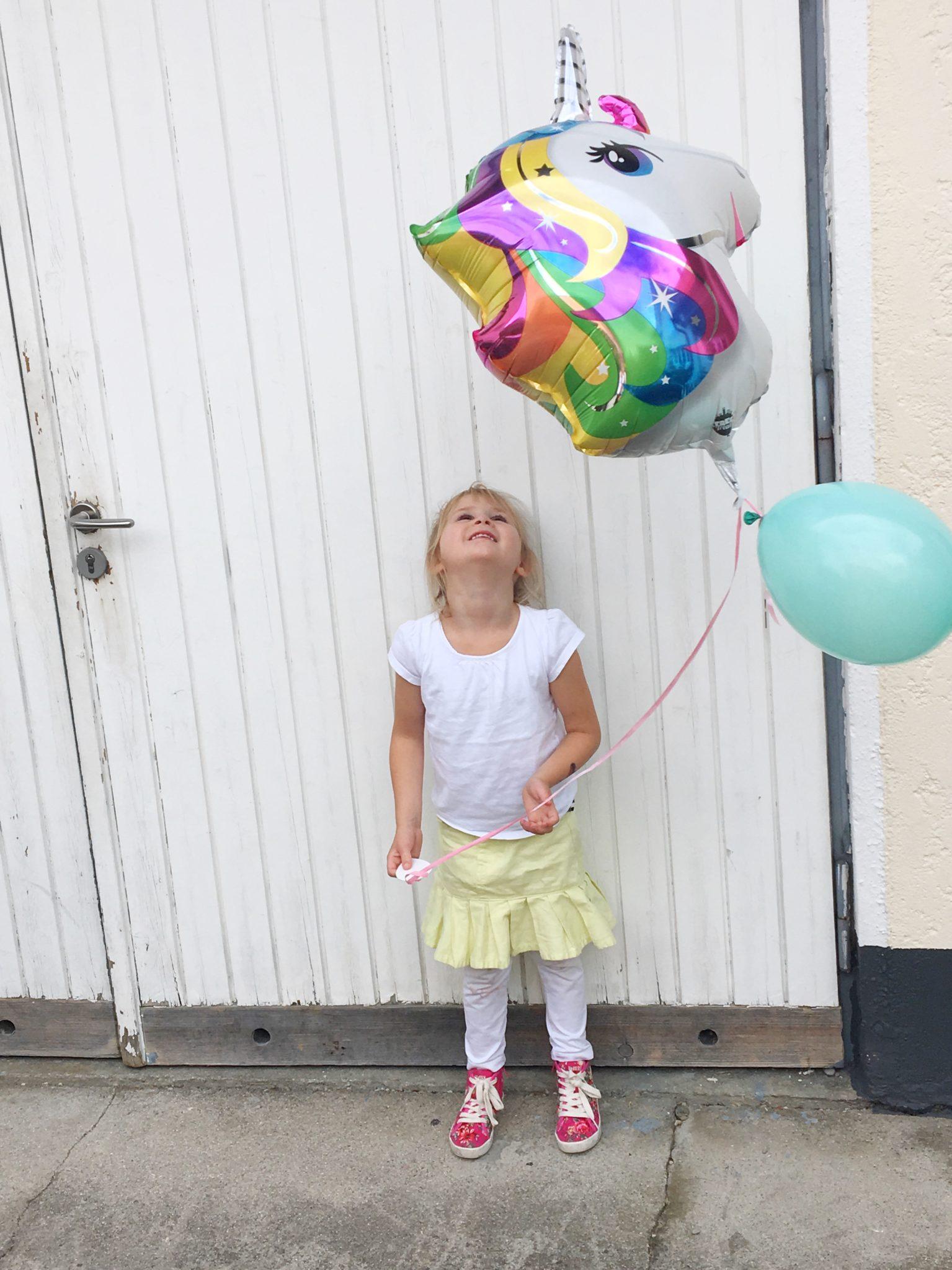 Tierisch wild: Einhorn Luftballon
