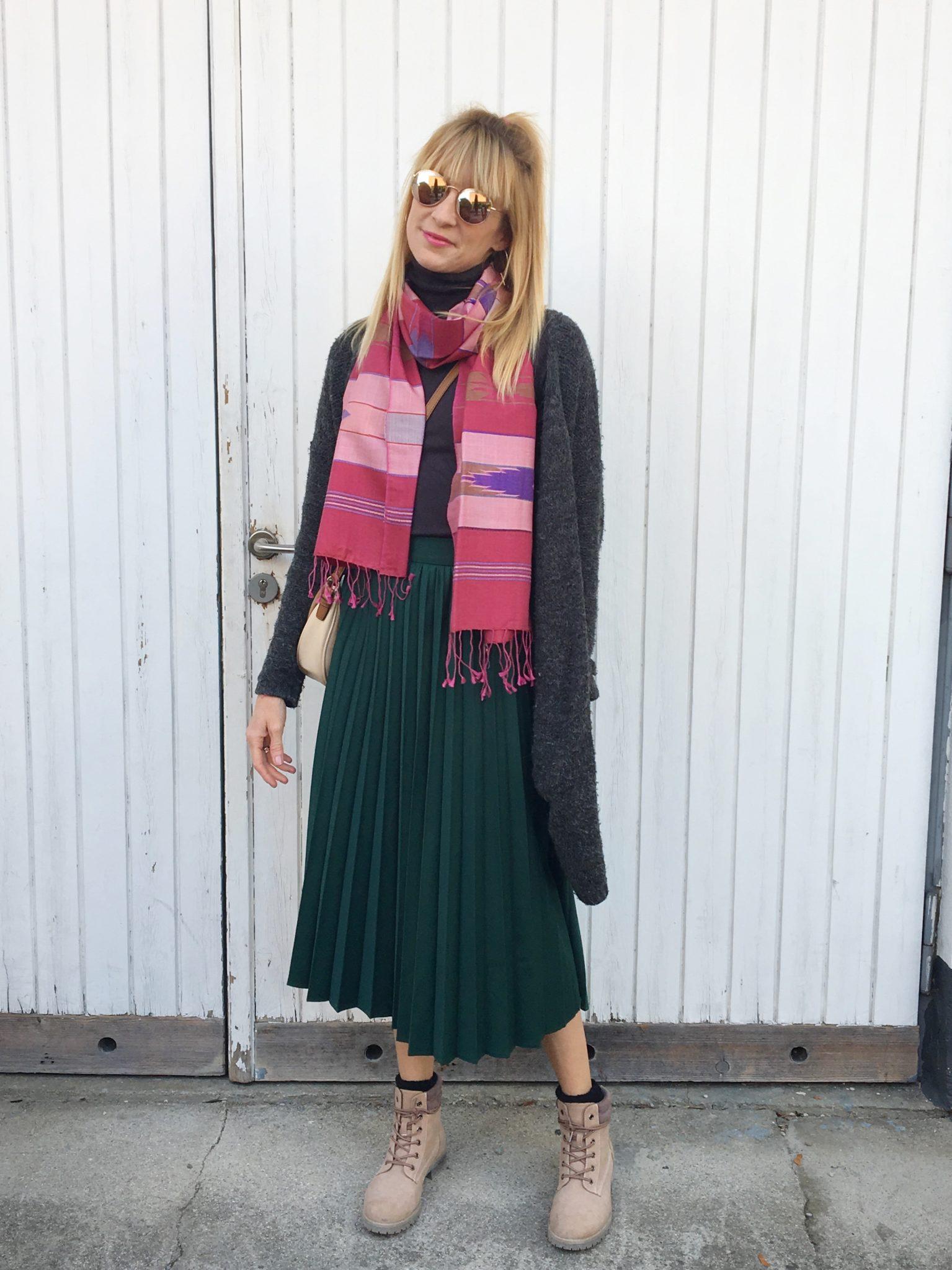 Mamablog: Ein Maheela Schal ist mehr als ein schönes Accessoire.