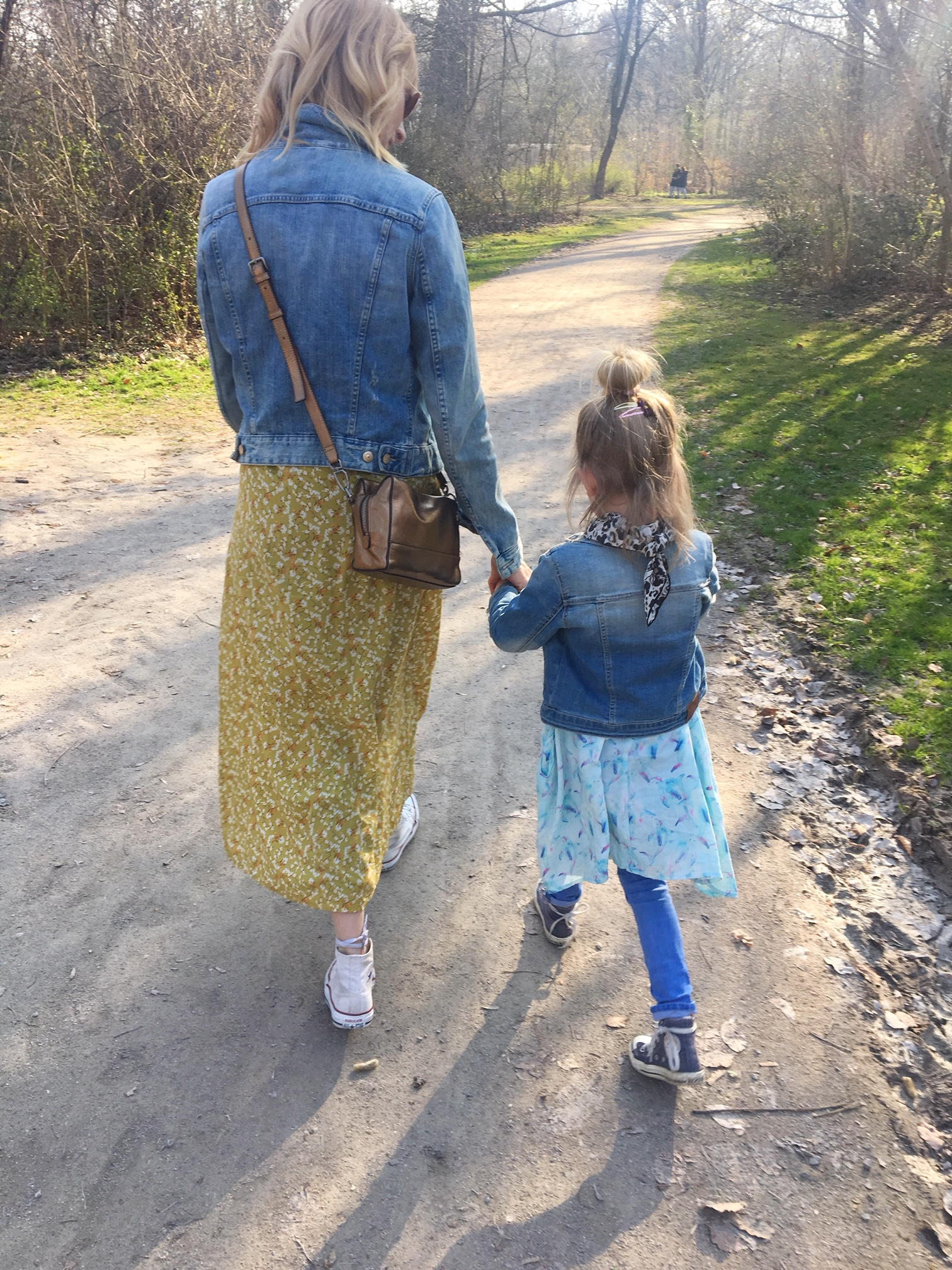 Mama Tochter Look. Frühlingslook.