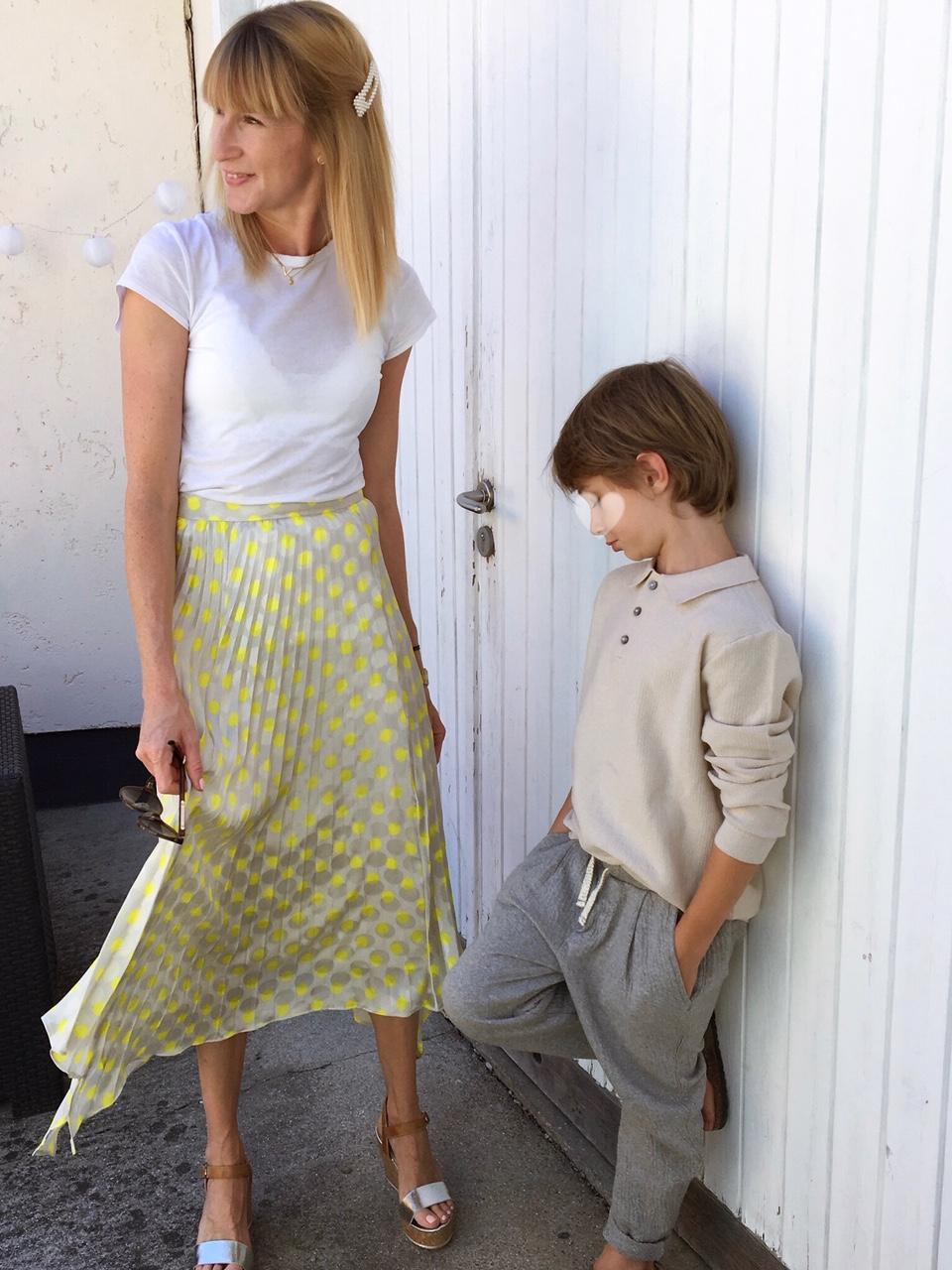 Looks für Mama und Sohn