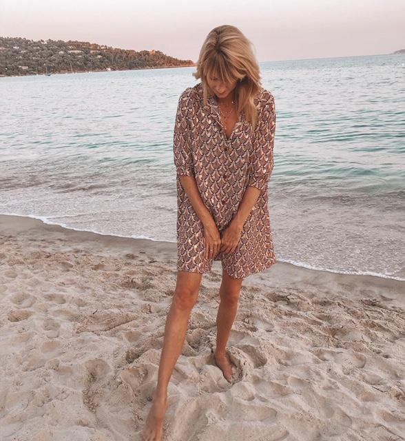Mein Look im Sommerurlaub an der Cote d'Azur.