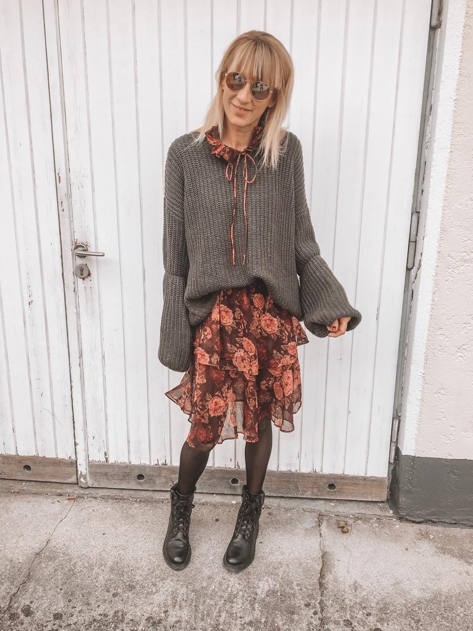 Mein Herbst-Highlight: florale Kleider in Herbstfarben