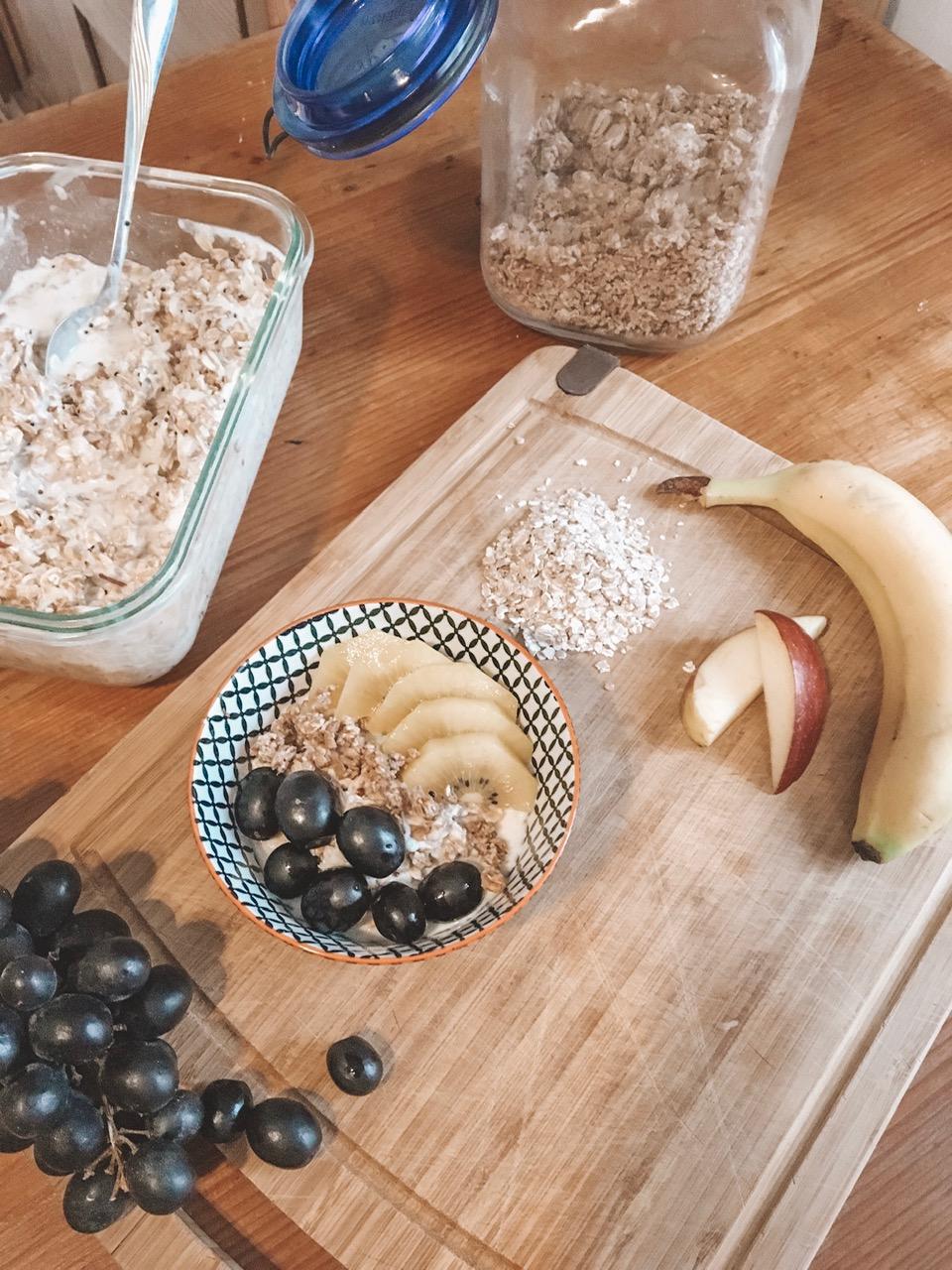 Müsli Frühstück für Kinder