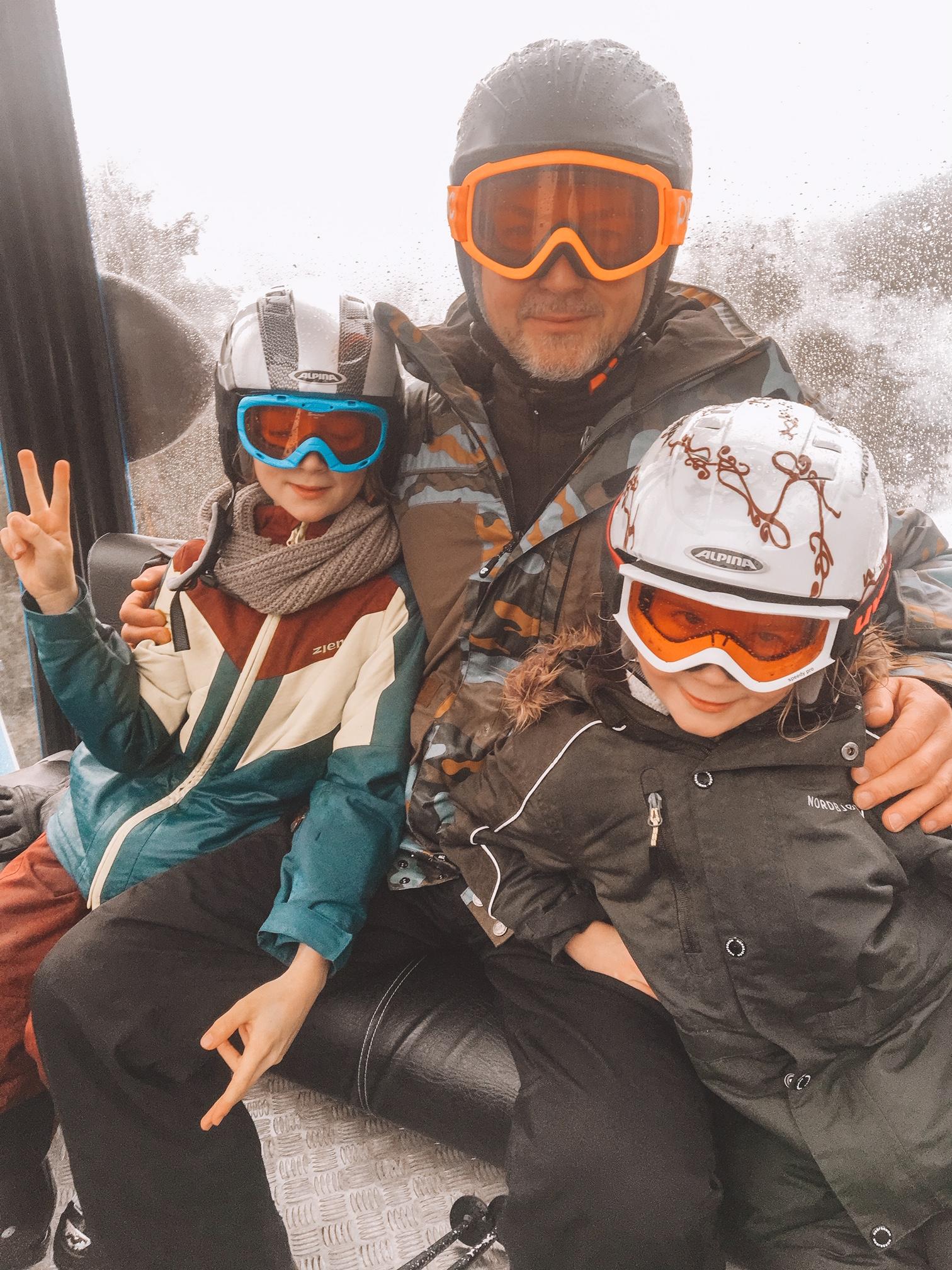 Skijacke für alle Fälle