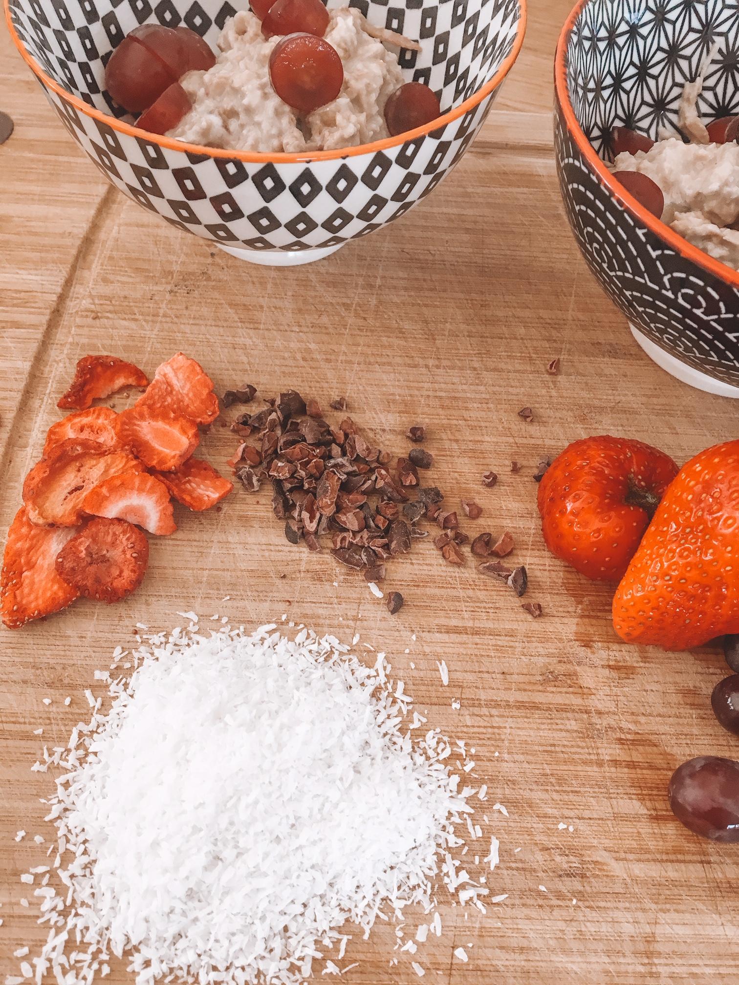 Kokos Topping fürs Müsli
