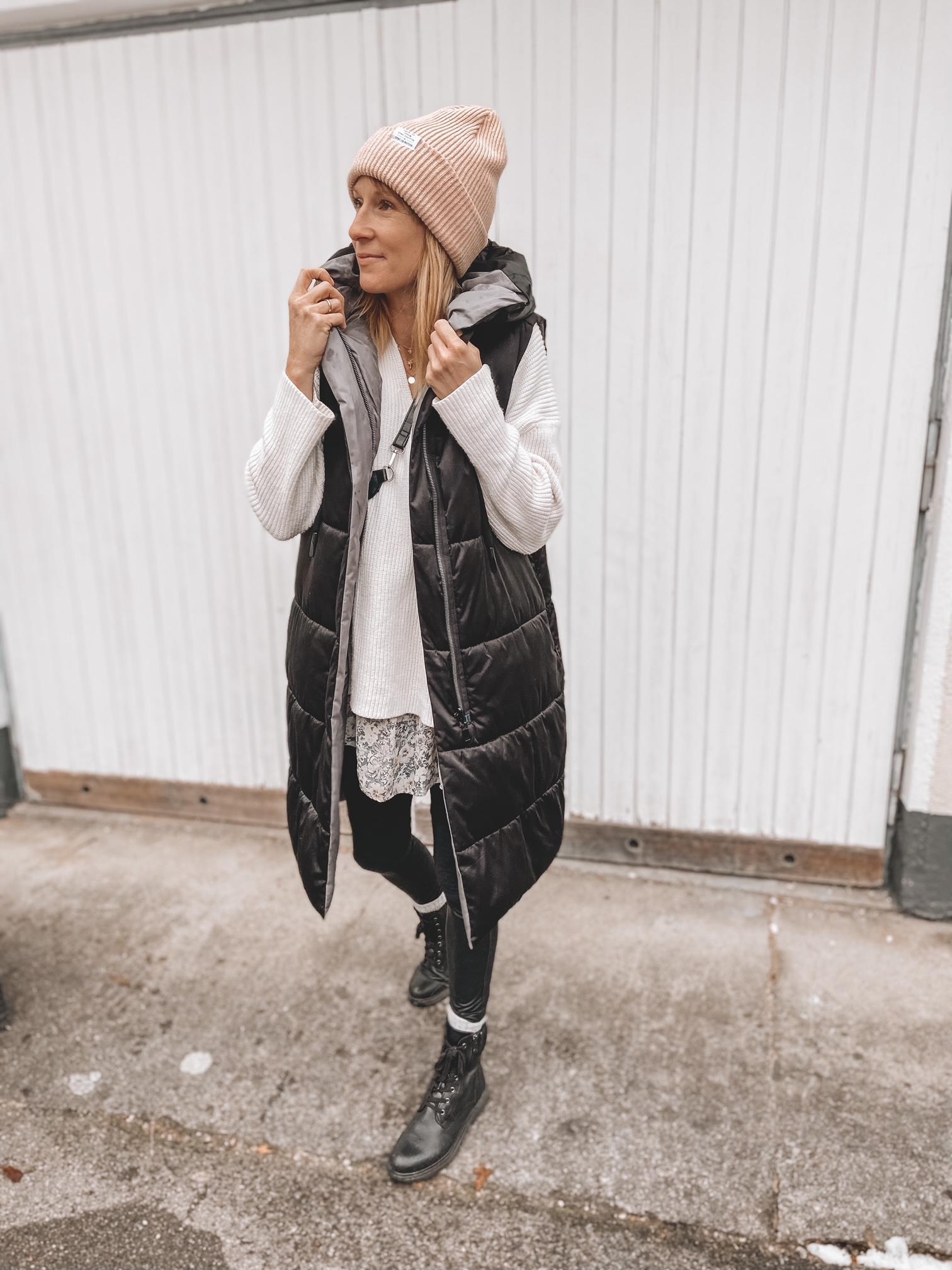 Kleider im Winter stylen